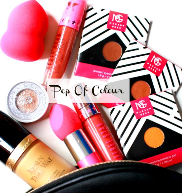 pop of colour makeup