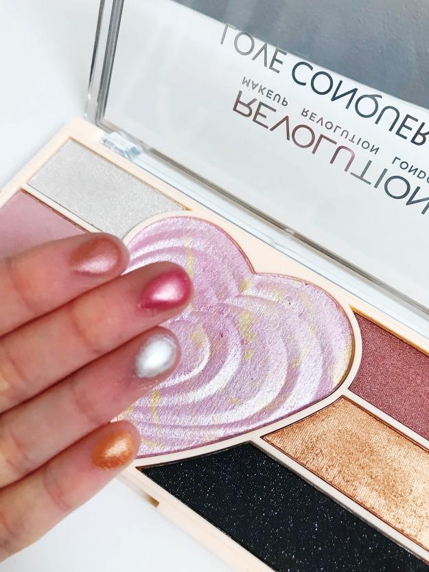 makeup revolution swatch