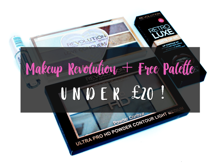 Makeup Revolution + FreeMakeup
